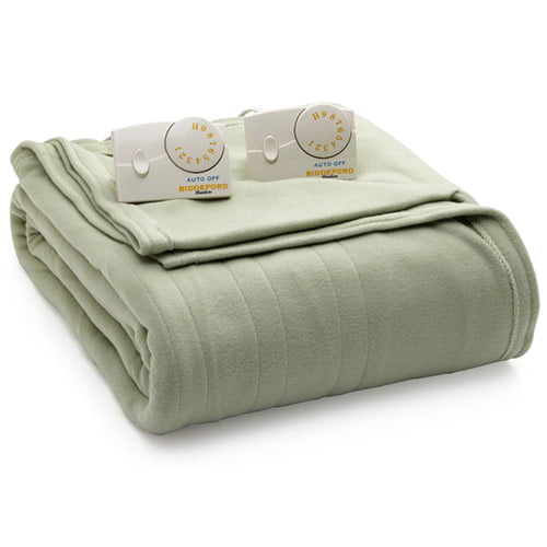 Click here to buy Biddeford Blankets Comfort Knit Heated Blanket by Biddeford Blankets.