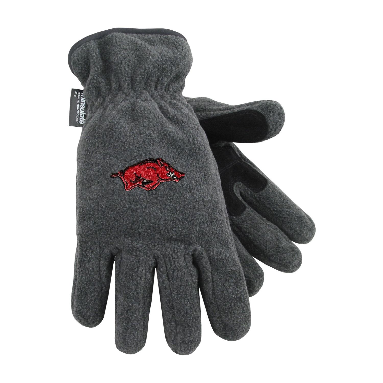University of Arkansas Heavy-Weight Fleece Gloves by
