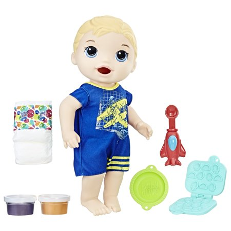 Baby Alive Super Snacks Snackin' Luke - Blonde Hair