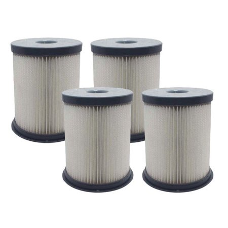 Crucial Hoover Elite Rewind Dust Cup Vacuum Cleaner Filter (Set of 4)