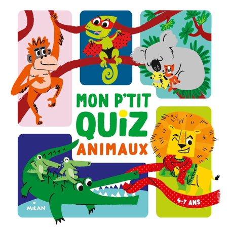 Mon p'tit quiz animaux - eBook