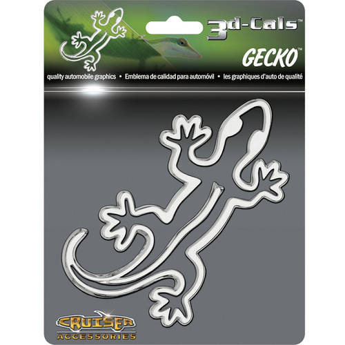 Cruiser Accessories 3D-Cals Gecko, Chrome