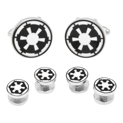 Men's Imperial Empire Symbol Stud Set