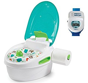 Summer Infant Step-By-Step Potty with Potty Watch Training Aid, Boy