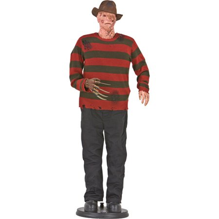 6 tall life size animated halloween freddy krueger - Freddy Krueger Halloween Decorations