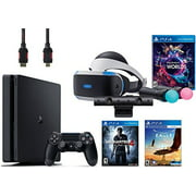PlayStation VR Launch Bundle 3 Items:VR Launch Bundle,PlayStation 4 Slim 500GB Console - Uncharted 4,VR Game Disc Eagle Flight VR