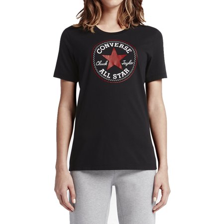 Converse Chuck Patch Women's T-Shirts Dark Red