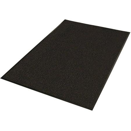 Guardian Platinum Series Indoor Wiper Floor Mat, Rubber with Nylon Carpet, 3'x5', - Indoor Wiper Mat