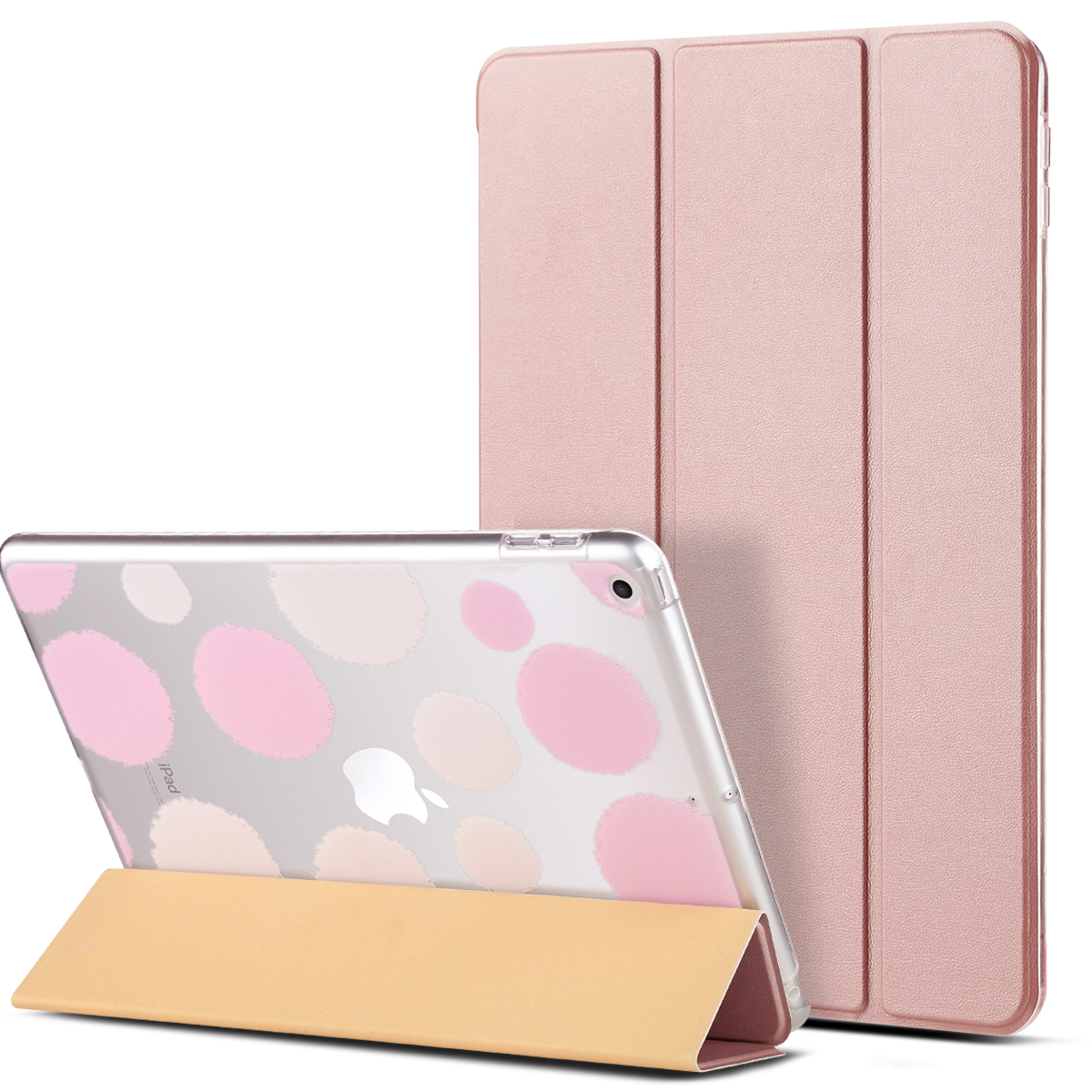 "ULAK New iPad 9.7 Inch 2017/2018 Case - Ultra Slim Lightweight Smart Shell Cover with Auto Sleep / Wake Feature  for Apple iPad 9.7"" 2017 and 2018 Release Tablet"