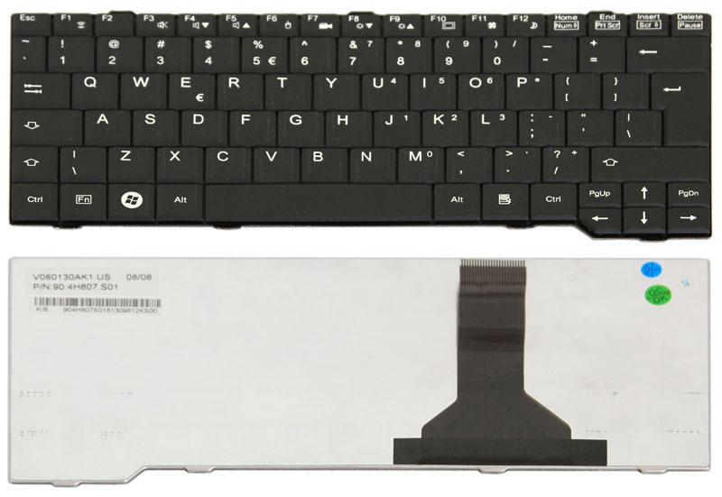 New Fujitsu Laptop Keyboard Replacement for Fujitsu Siemens Amilo SA3650 Laptops by Generic