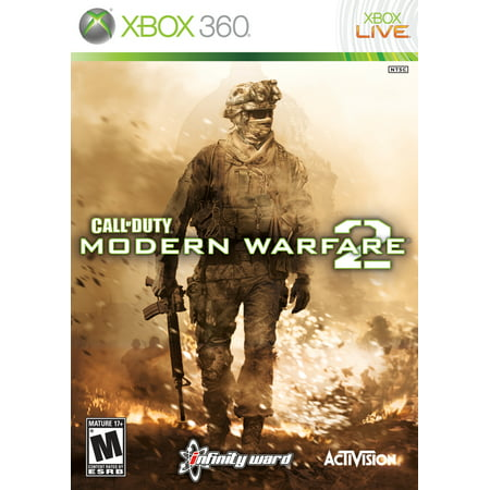 Call of Duty Modern Warfare 2, Activision, Xbox 360 Backwards Compatible,