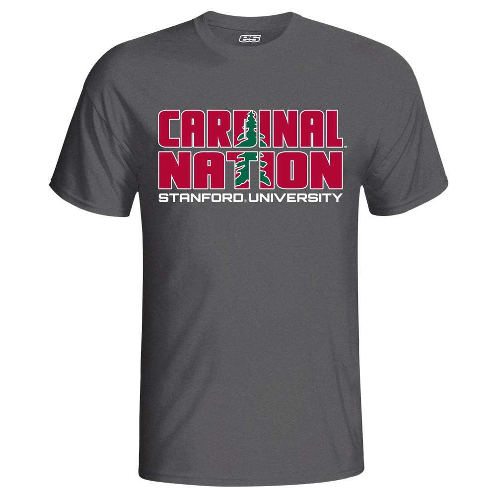 Men's Short Sleeve Tonal Stanford Cardinals Tee