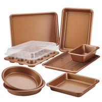 Ayesha Curry 10-Piece Bakeware Set, Copper