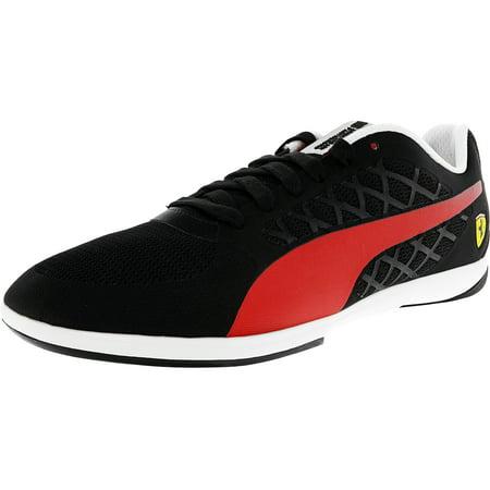 Puma-Mens-Ferrari-Valorosso-2-Black-Rosso-Corsa-Ankle-High-Fashion-Sneaker-8-5M