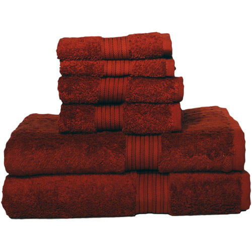 Baltic Linen Egyptian Majestic 6 Piece Heavy Weight Cotton Towel Set Moss Green