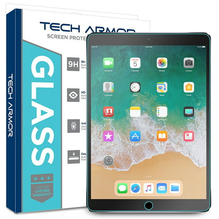 new styles c773a d24ae Tech Armor iPad Pro 9.7-inch (2016/2017) Glass Screen Protector, Premium  Ballistic Glass Apple iPad Pro 9.7-inch Screen Protectors [1]