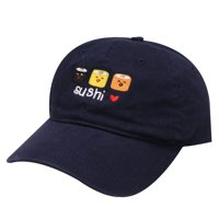 4256d2ca296 Product Image City Hunter C104 Sushi Love Cotton Baseball Dad Caps 15 Colors  (Navy)