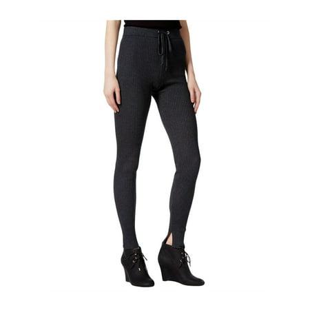 Rachel Roy Womens Ribbed Casual Leggings charcoalheather S/30 - image 1 de 1