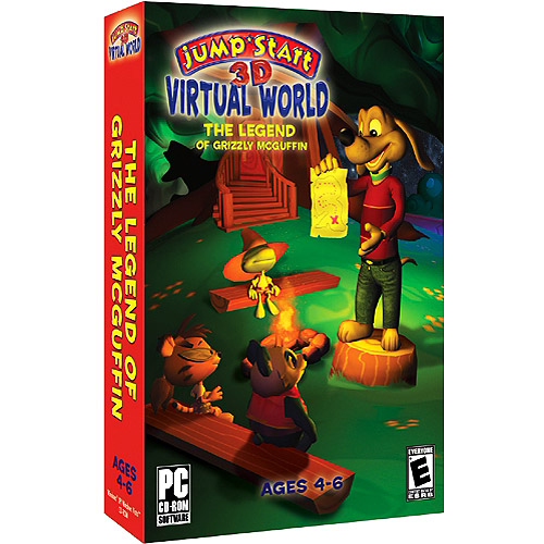 JumpStart 3D Virtual World: The Legend of Grizzly McGuffin