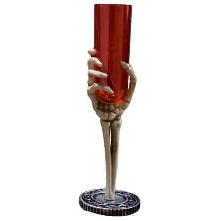 Veil Entertainment Skeleton Hand Goblet Chalice 9.75
