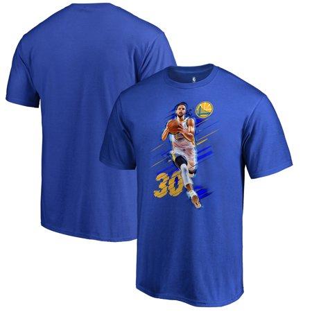 quality design e03c1 2af8b Stephen Curry Golden State Warriors Fanatics Branded Fade Away T-Shirt -  Royal
