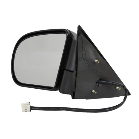 NEW LH DOOR MIRROR FITS CHEVY 99-05 BLAZER 99-04 S10 02-05 TRAILBLAZER W/ HEAT POWER GM1320192 955-073 15105941 GM49EL 15105941