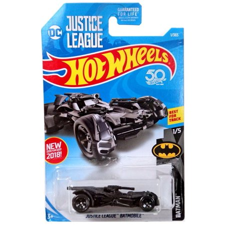 Hot Wheels Batman Justice League Batmobile Die-Cast Car [1/5] (Justice League Dice)