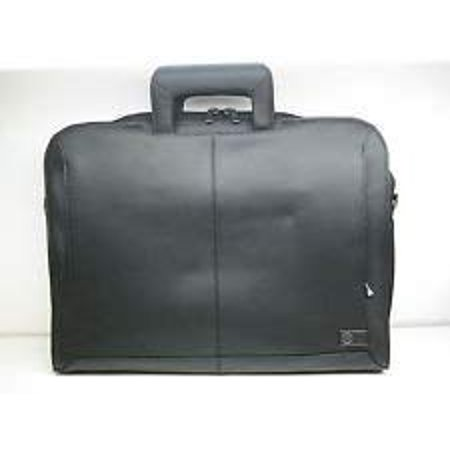Dell Executive Leather Attache Notebook Bag Carrying Case with Shoulder Strap - Fits Up To 16