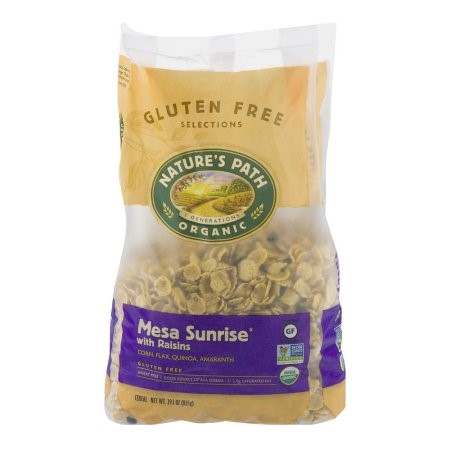 Nature's Path Organic Mesa Sunrise Cereal, with Raisins, 29.1 Oz