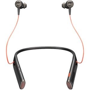 Plantronics Voyager 6200 UC Business-Ready BT Neckband Headset With Earbuds