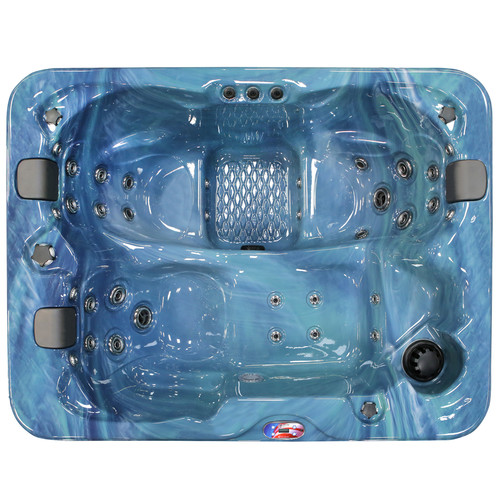 3-Person 34-Jet Lounger Spa with Bluetooth Stereo System, Subwoofer and Backlit LED