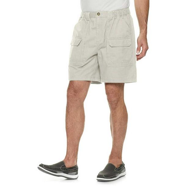 "Croft /& Barrow Size 42 Men's Shorts 8.5"" Inseam Flex Waist NEW Cargo Short"