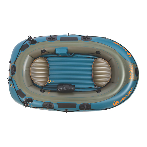 Sevylor 4-Person Fish/Hunt Inflatable Boat with Berk