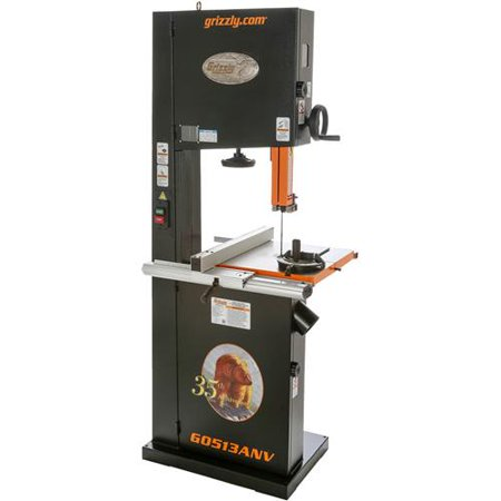 "Grizzly G0513ANV 17"" 2 HP Bandsaw - 35th Anniversary Edition"
