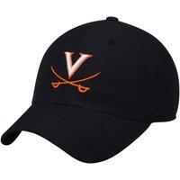 Virginia Cavaliers Top of the World Primary Logo Staple Adjustable Hat - Navy - OSFA
