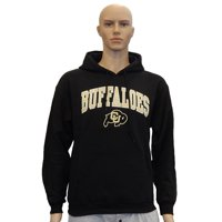 University of Colorado Buffaloes Mascot Officially Licensed Logo Pullover Hooded Fleece Sweatshirt Hoodie (Large)
