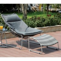 Furniture of America Utica Contemporary Style Outdoor Lounge Chair