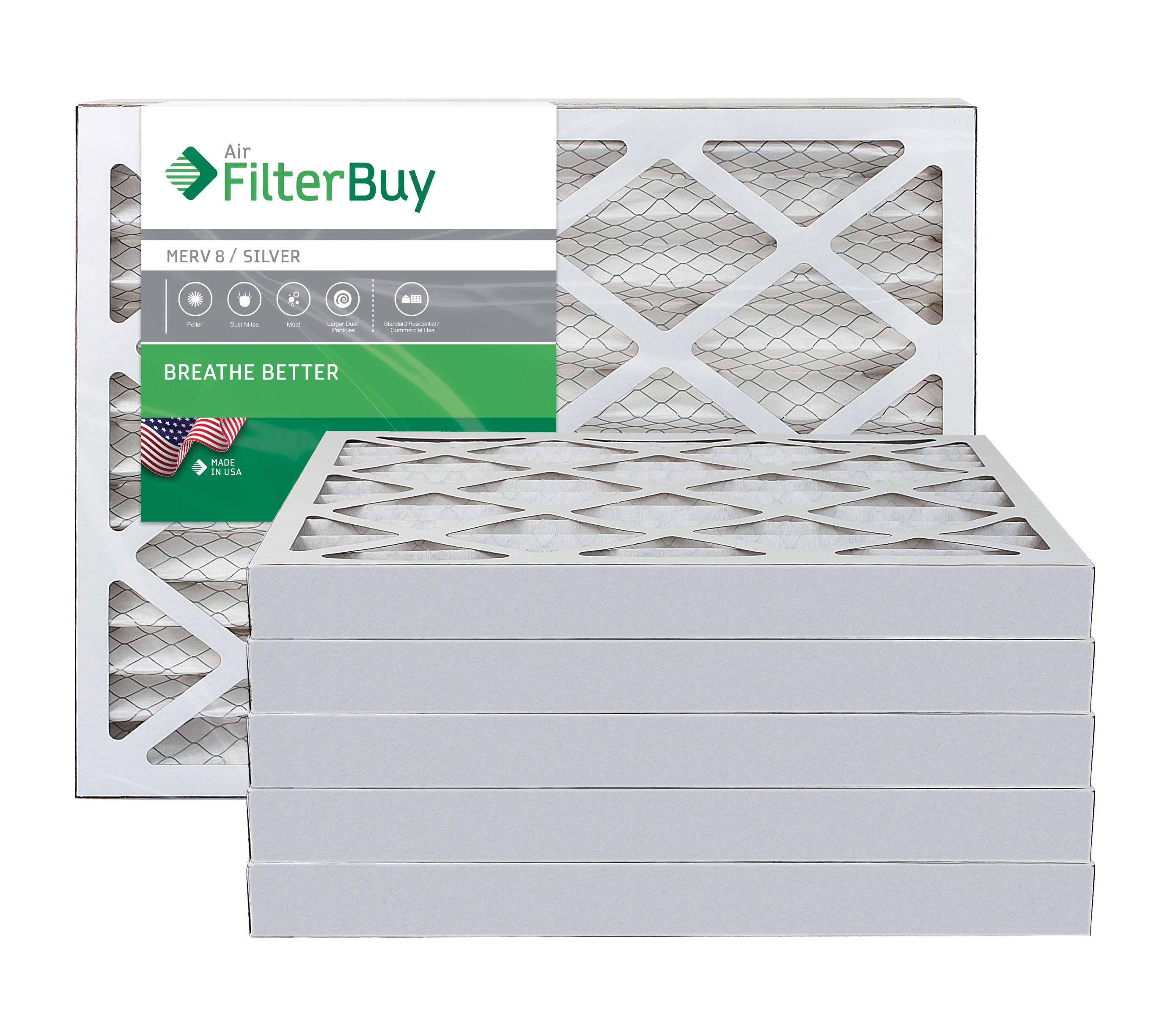 Actual Size Accumulair Diamond 16x21.5x1 MERV 13 Air Filter//Furnace Filters 2 Pack
