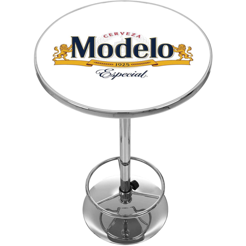 Modelo Chrome Pub Table by Trademark Global LLC