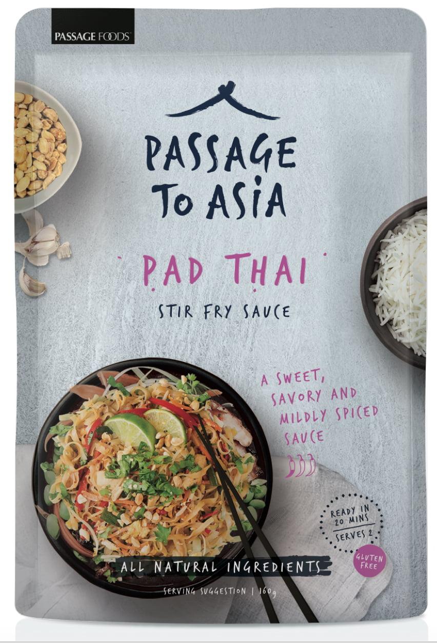 Passage to Asia Gluten Free Mild Pad Thai Stir-Fry Sauce, 7.0 OZ ...