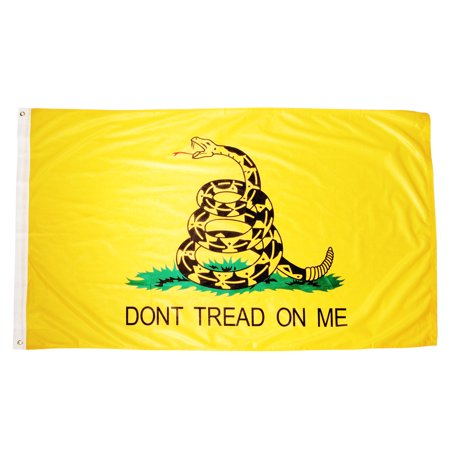 Gadsden 3Ft X 5Ft Super Knit Polyester Flag   Dont Tread On Me