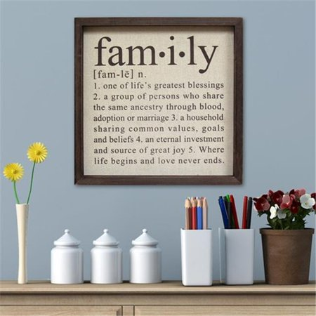 Stratton Home Decor Definition Of Family Wall