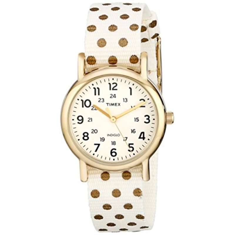 Timex Weekender Reversible Ladies Watch (Cream)