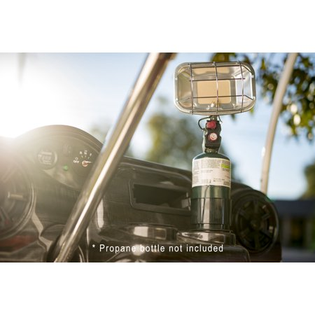Portable Cup Holder Propane Heater for Golf Carts - Piezo-Ignited