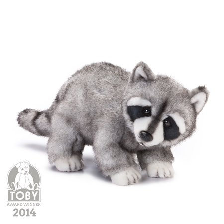 Raccoon Plush Toy - nat and jules plush toy, raccoon, large