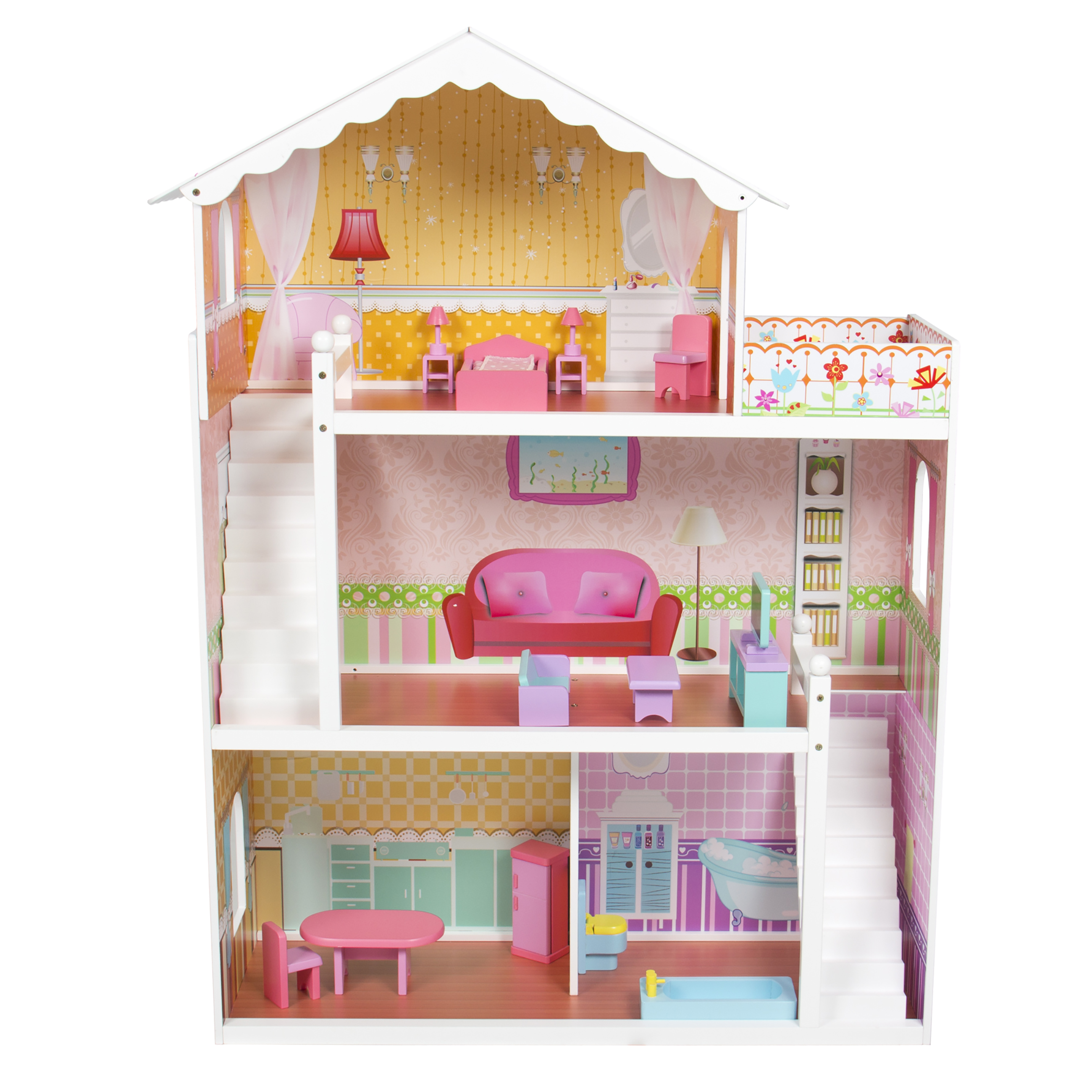 barbie doll house pink with furniture previous barbie furniture dollhouse