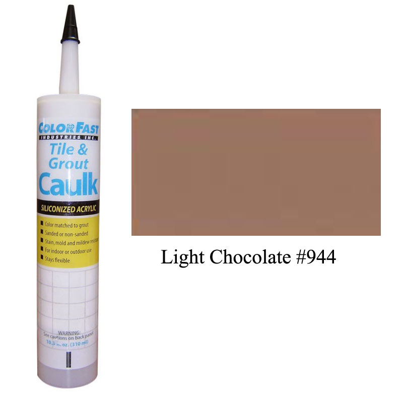 Latex Colored Caulk - TEC Color Line: Light Chocolate Sanded