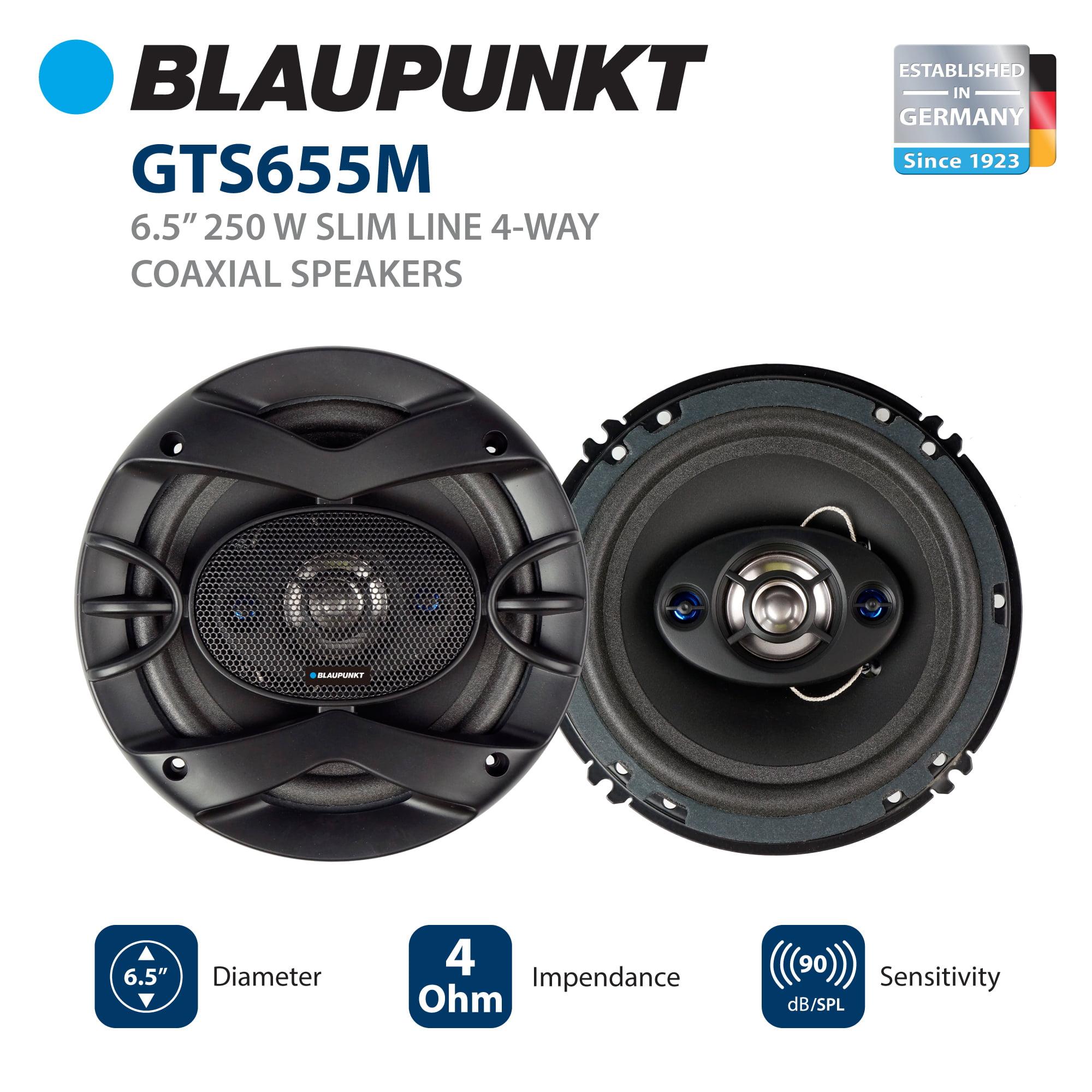 Bluapunkt 6 x 9-Inch 300W Slim-Line 4-Way Coaxial Car Audio Speaker Blaupunkt GTS692M