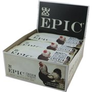 Epic Chicken Snack Bar, BBQ Seasoned Chicken Sesame, 1.5 Oz