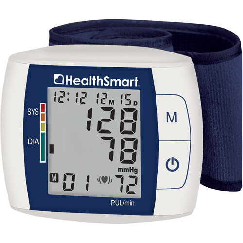 HealthSmart Premium Talking Automatic Wrist Digital Blood Pressure Monitor